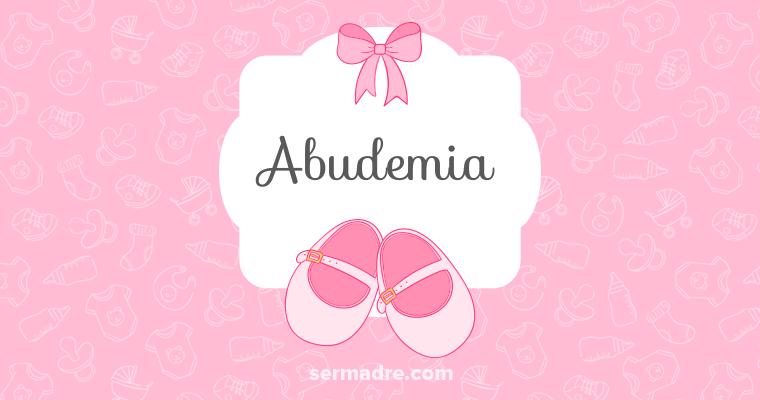Imagen de nombre Abudemia