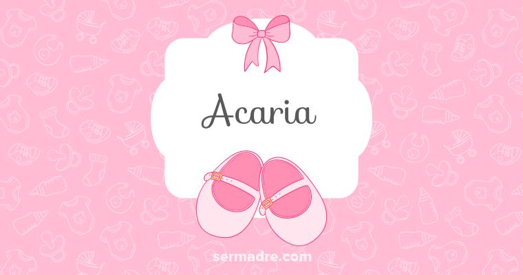 Acaria