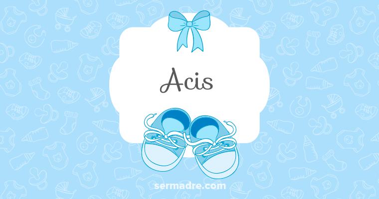Imagen de nombre Acis