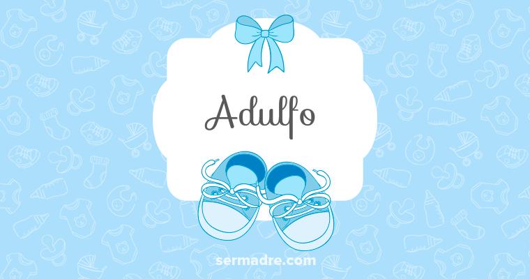 Imagen de nombre Adulfo