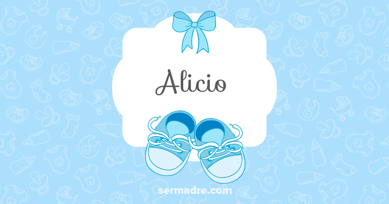 Imagen de nombre Alicio