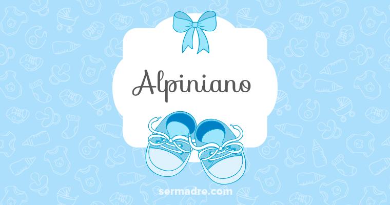 Imagen de nombre Alpiniano
