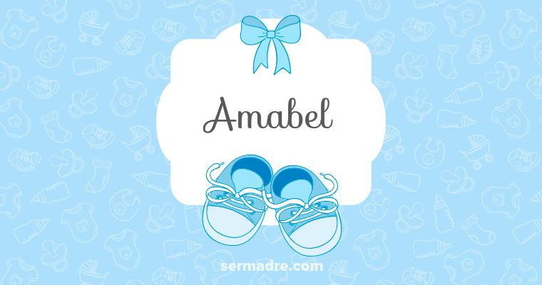 Imagen de nombre Amabel
