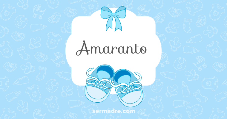 Imagen de nombre Amaranto