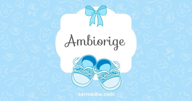 Imagen de nombre Ambiorige