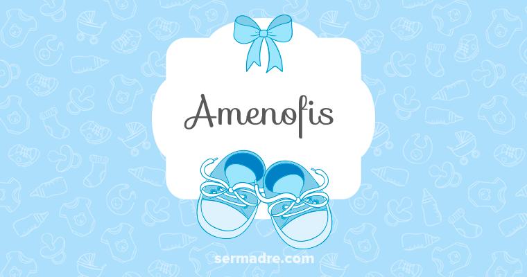 Imagen de nombre Amenofis