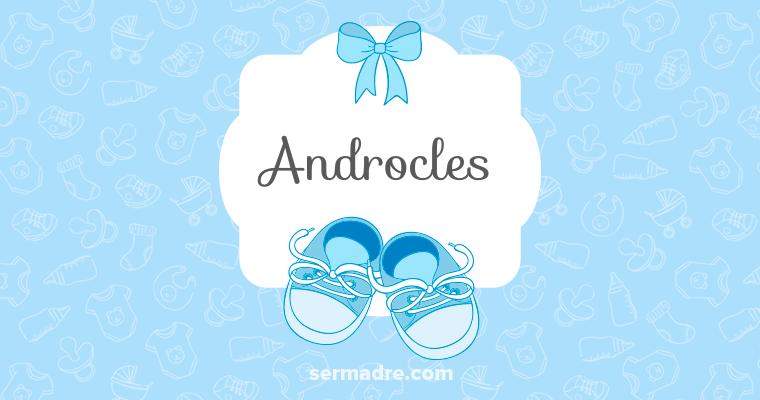 Imagen de nombre Androcles