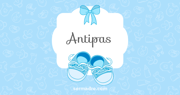 Imagen de nombre Antipas