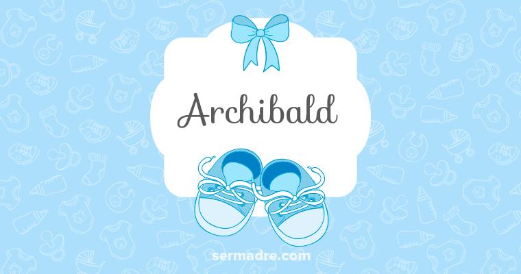 Imagen de nombre Archibald