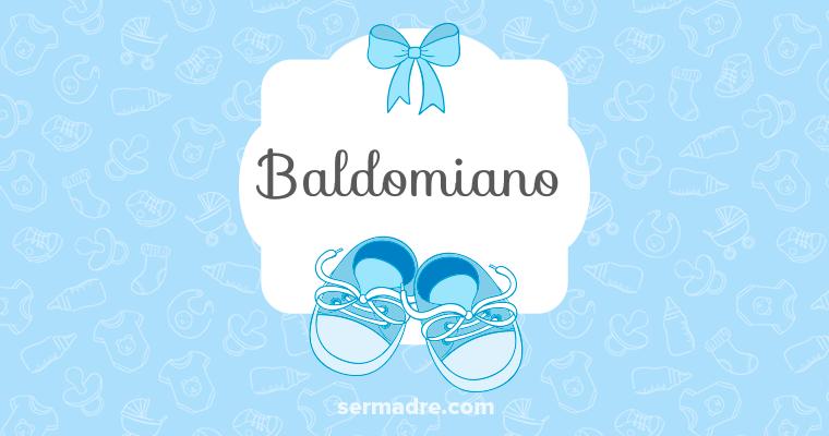 Imagen de nombre Baldomiano