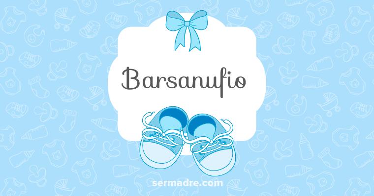 Imagen de nombre Barsanufio