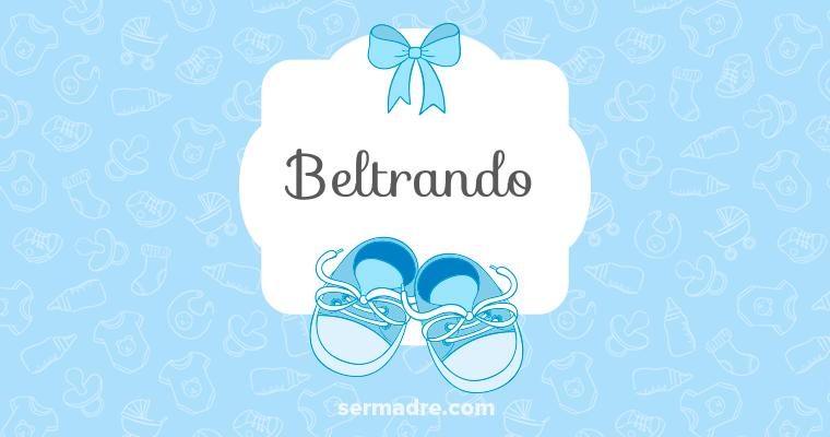 Imagen de nombre Beltrando