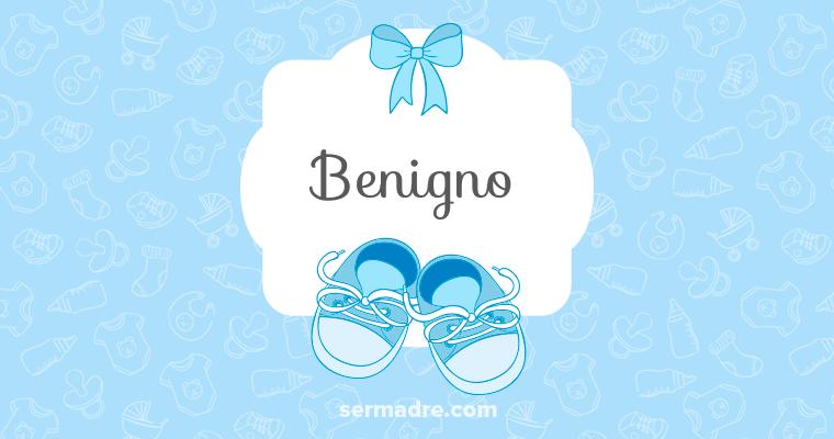 Imagen de nombre Benigno