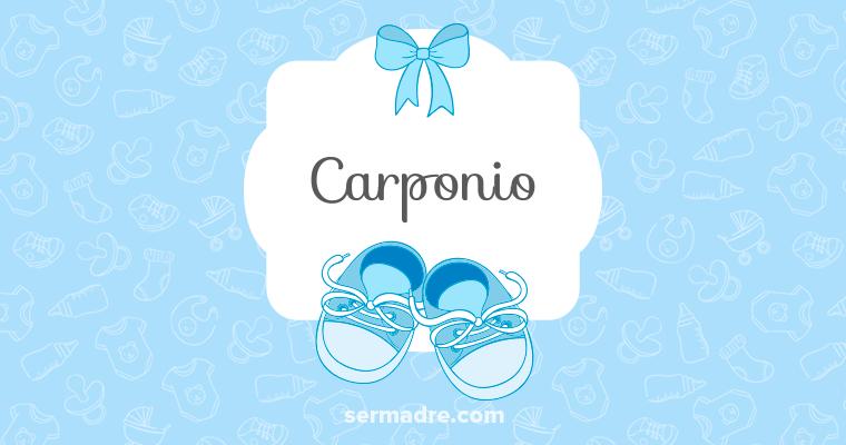 Carponio
