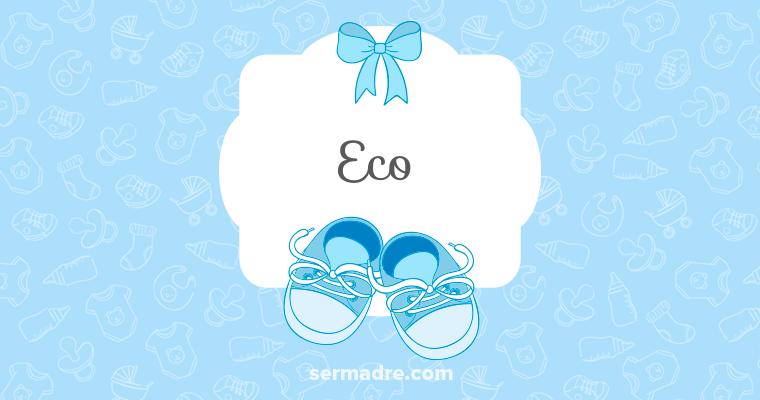 Imagen de nombre Eco
