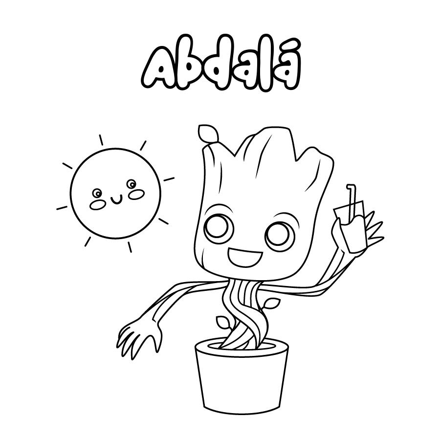 Dibujo de Abdalá