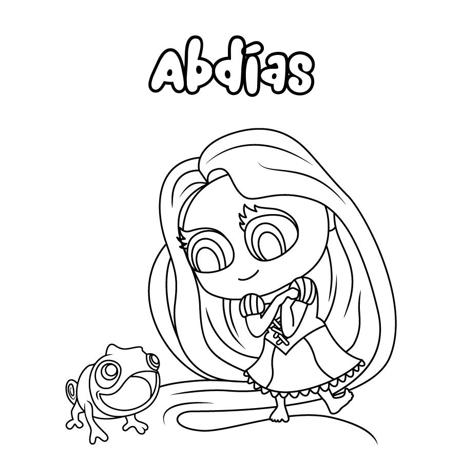 Dibujo de Abdías
