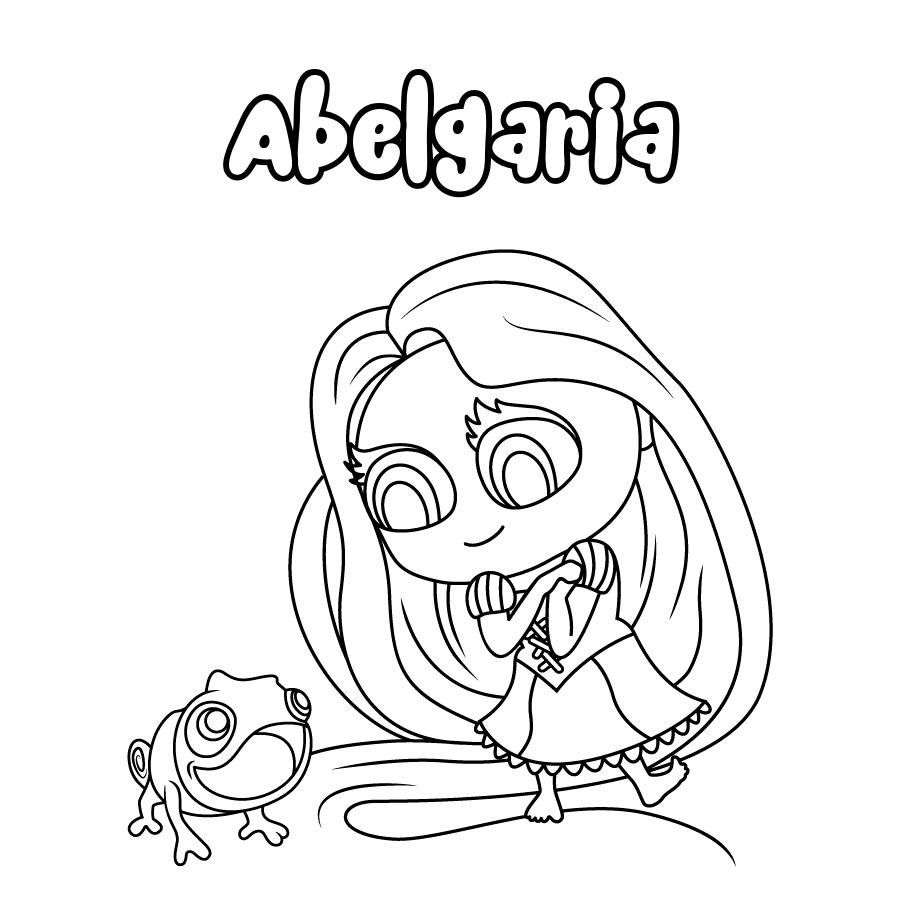 Dibujo de Abelgaria