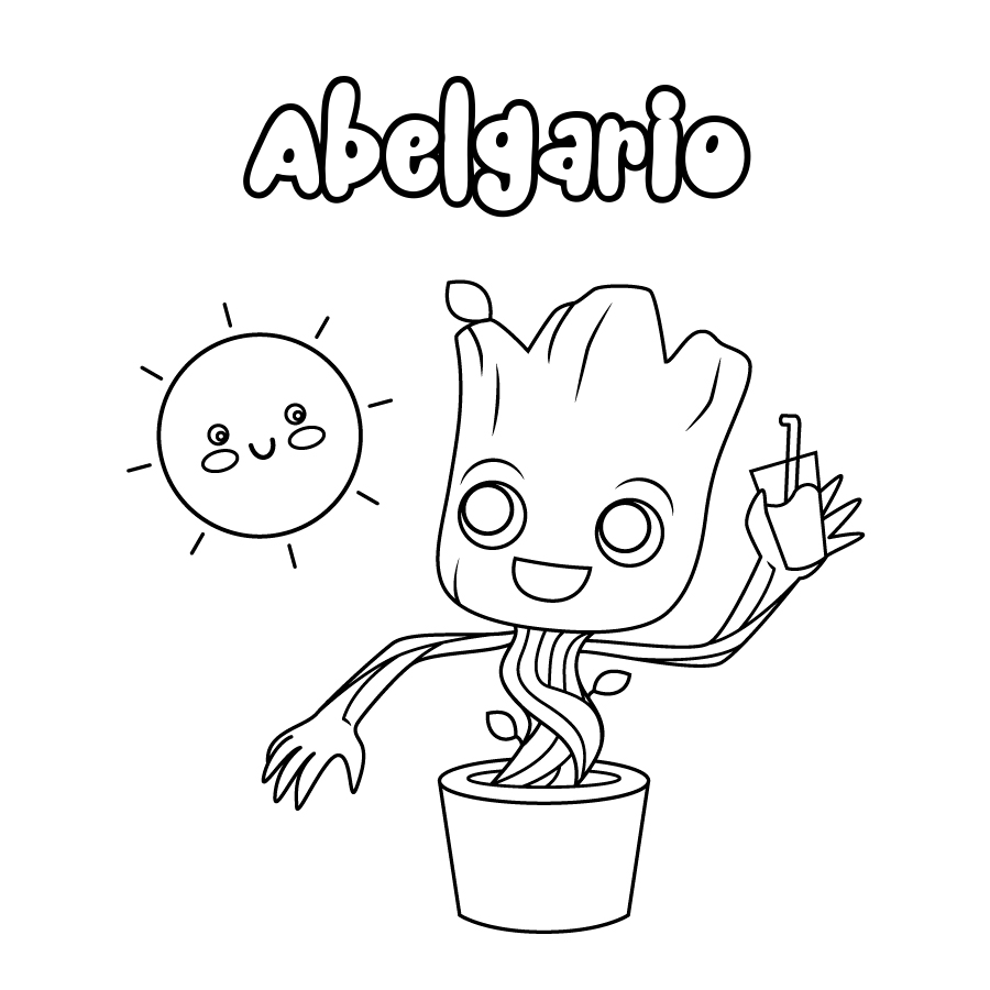 Dibujo de Abelgario