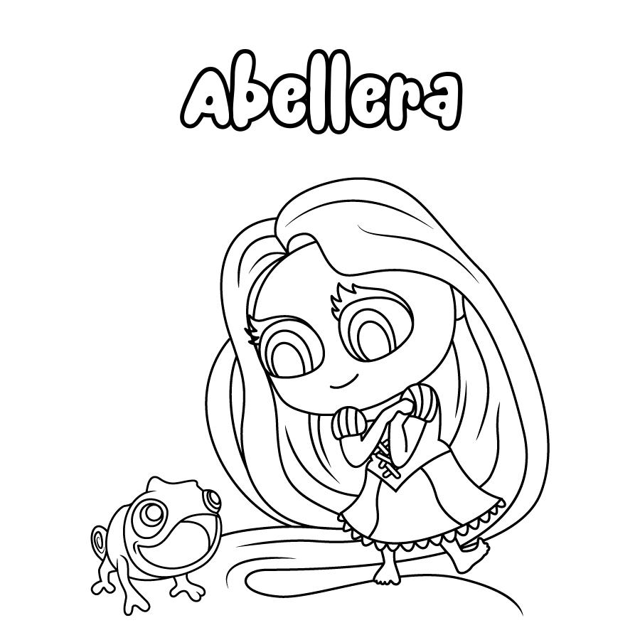 Dibujo de Abellera