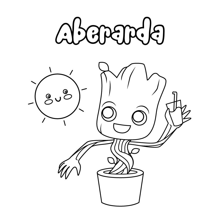 Dibujo de Aberarda