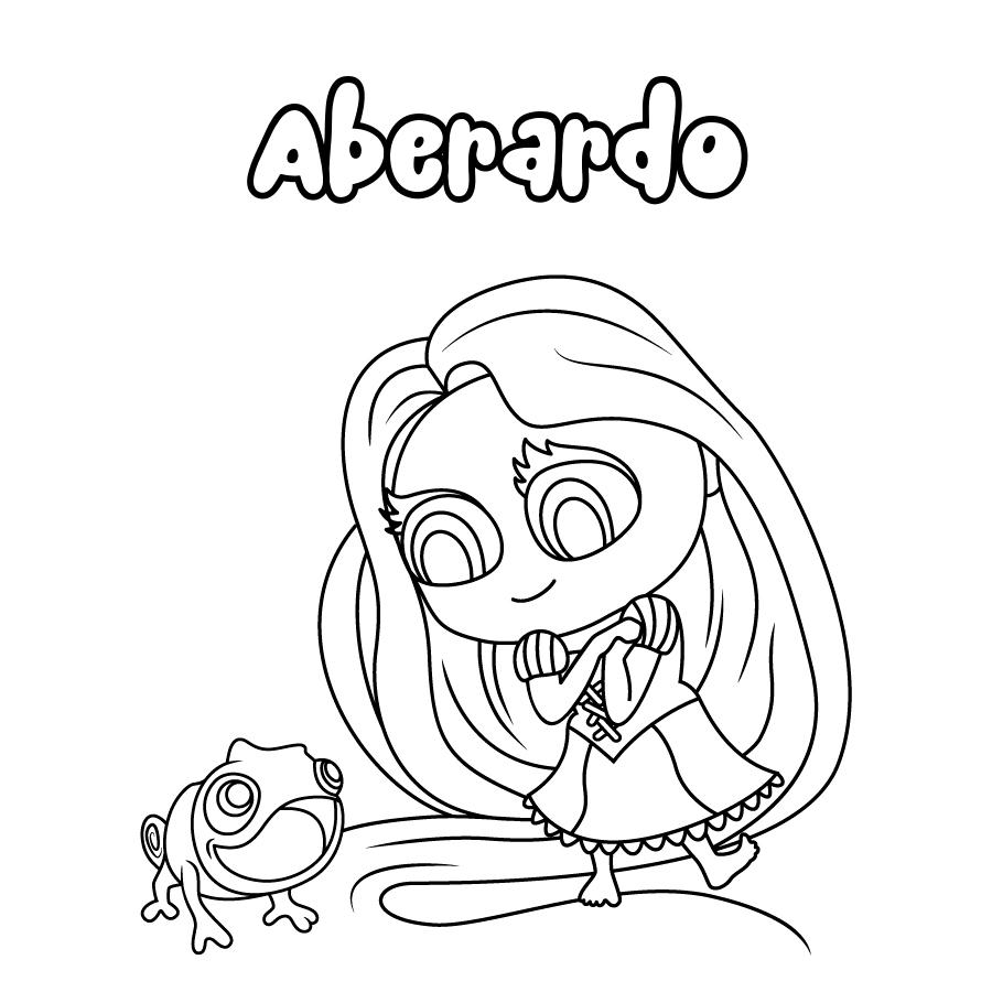 Dibujo de Aberardo