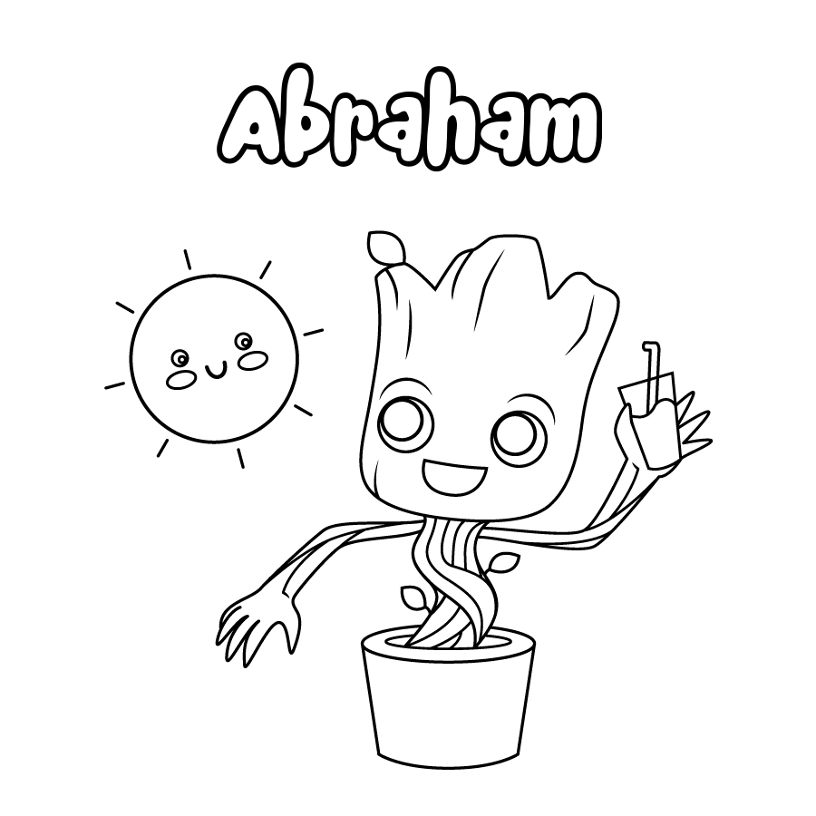 Dibujo de Abraham