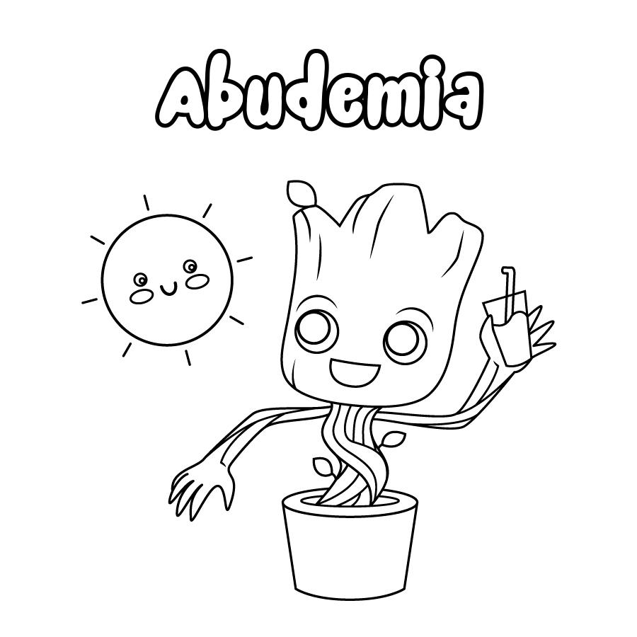 Dibujo de Abudemia