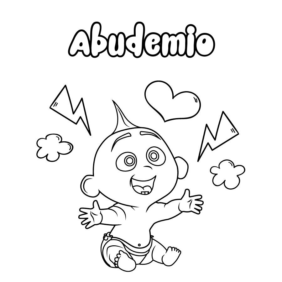 Dibujo de Abudemio