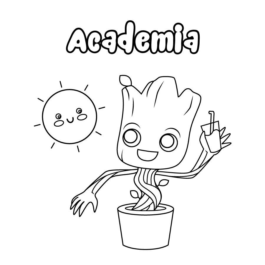 Dibujo de Academia