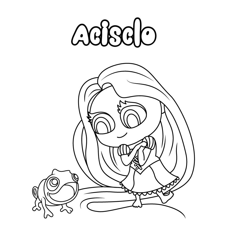 Dibujo de Acisclo