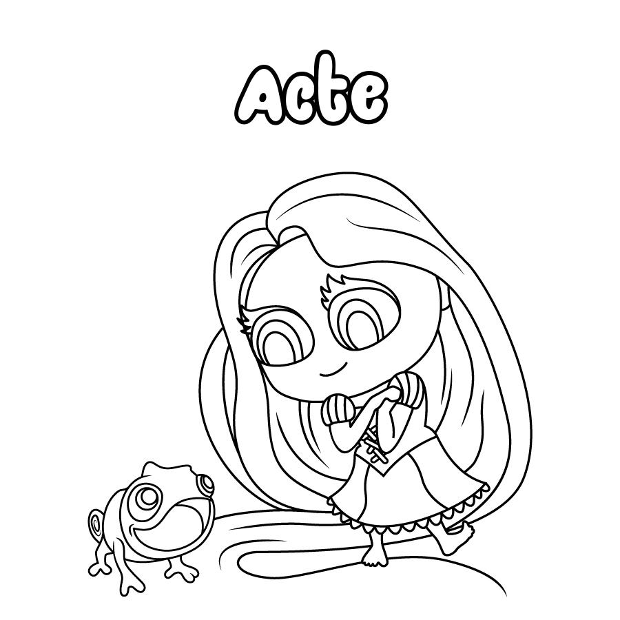 Dibujo de Acte