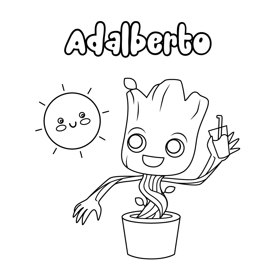 Dibujo de Adalberto