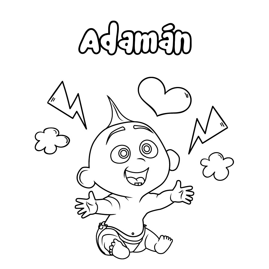 Dibujo de Adamán