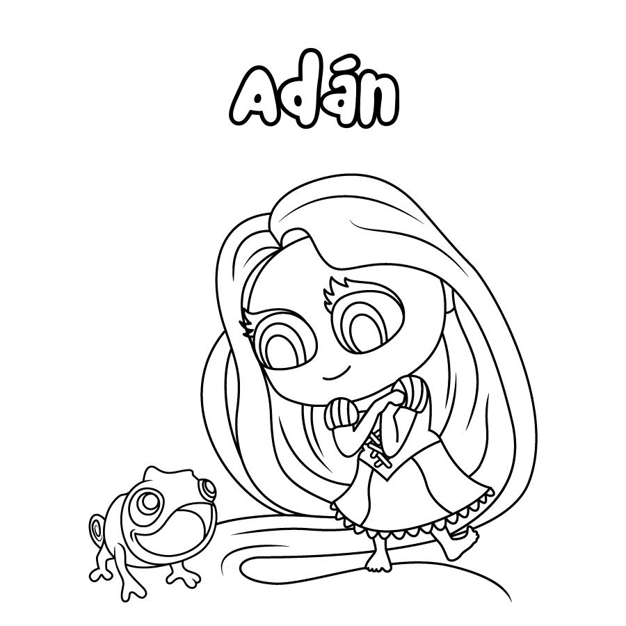 Dibujo de Adán