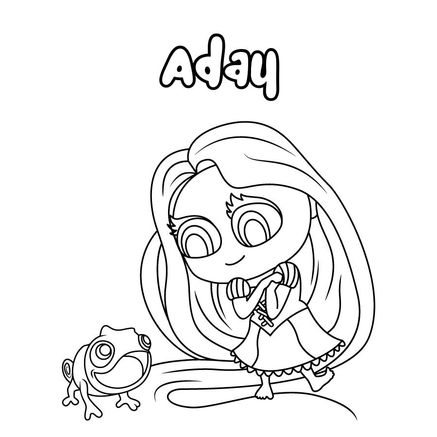 Dibujo de Aday