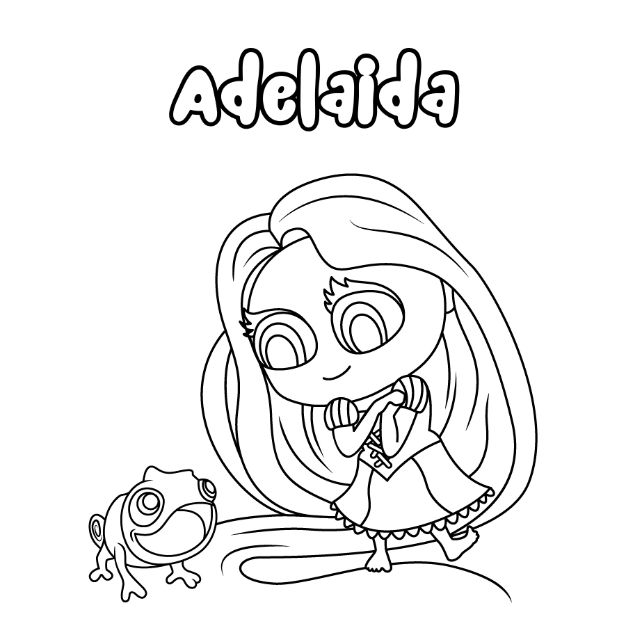 Dibujo de Adelaida