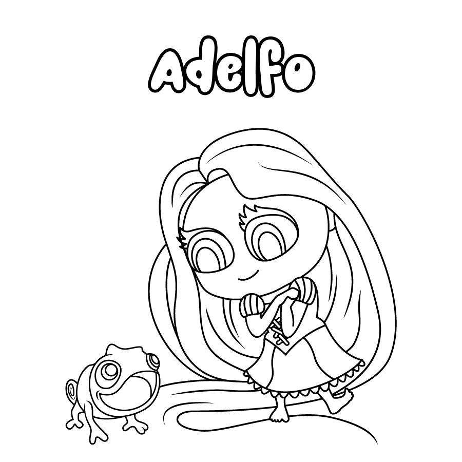Dibujo de Adelfo