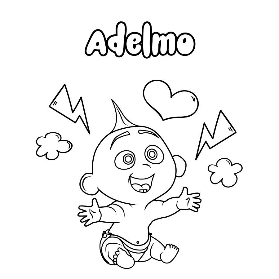 Dibujo de Adelmo