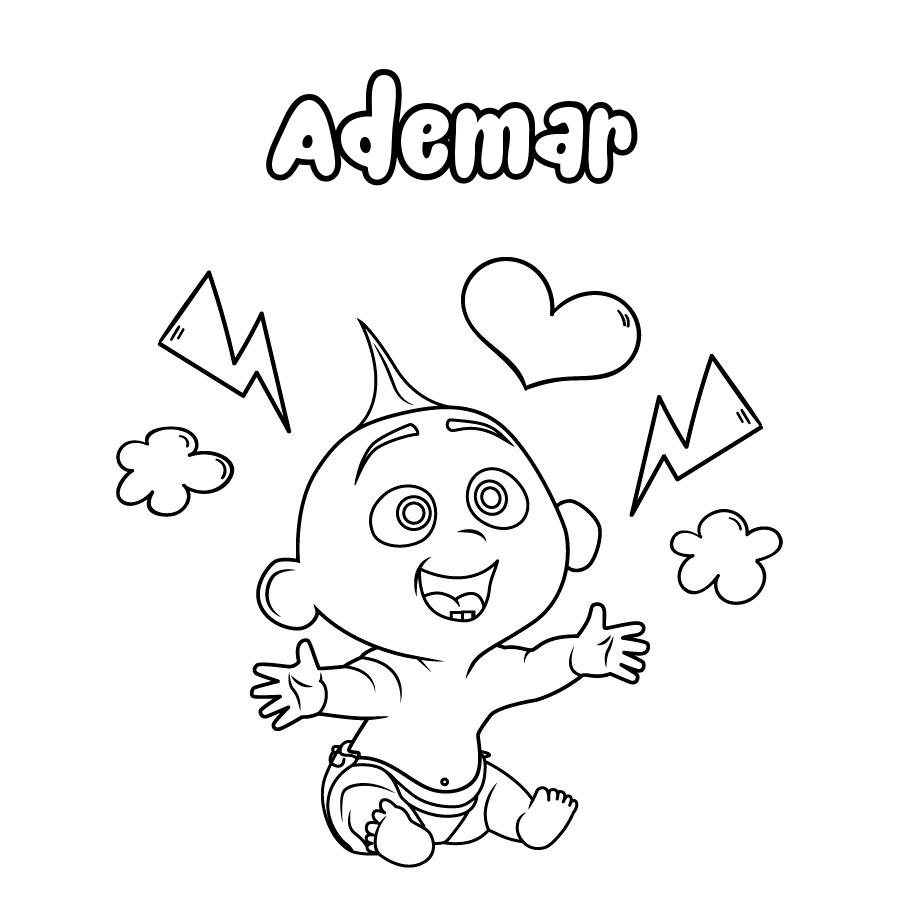 Dibujo de Ademar