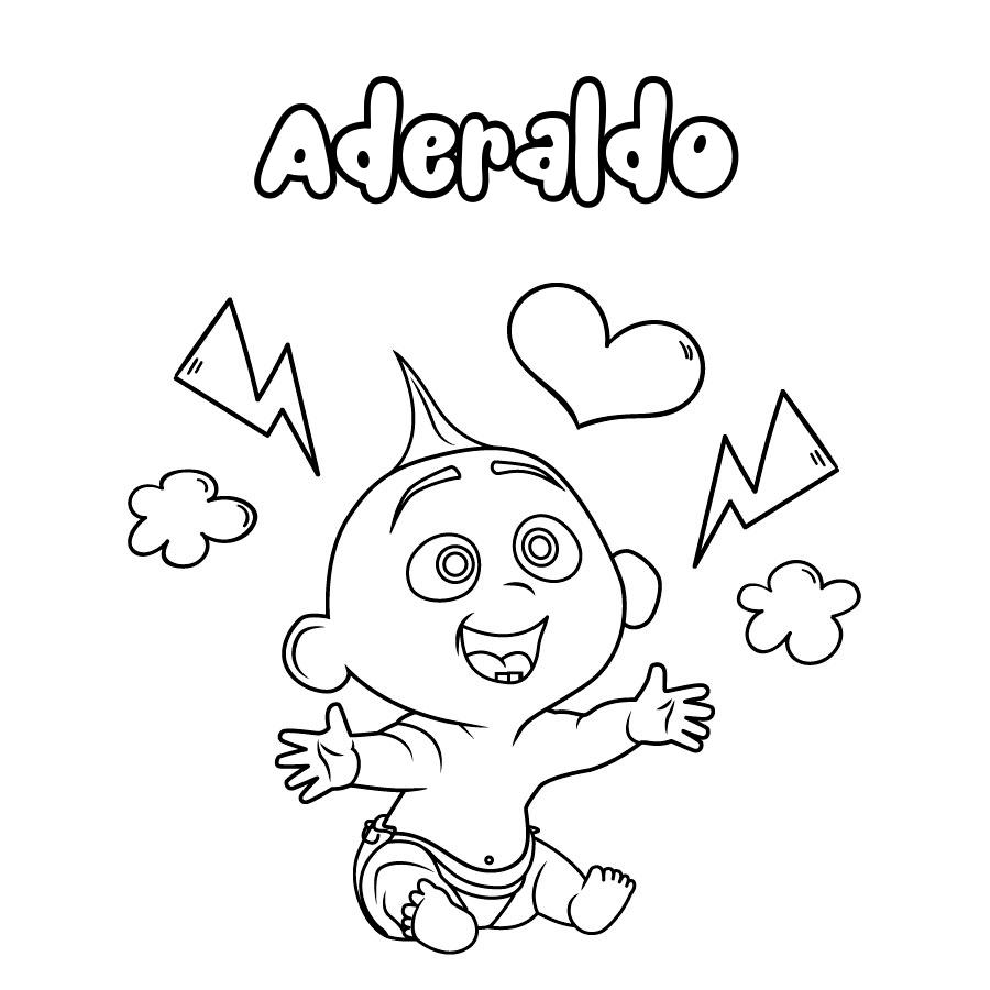 Dibujo de Aderaldo