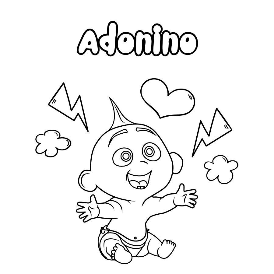 Dibujo de Adonino
