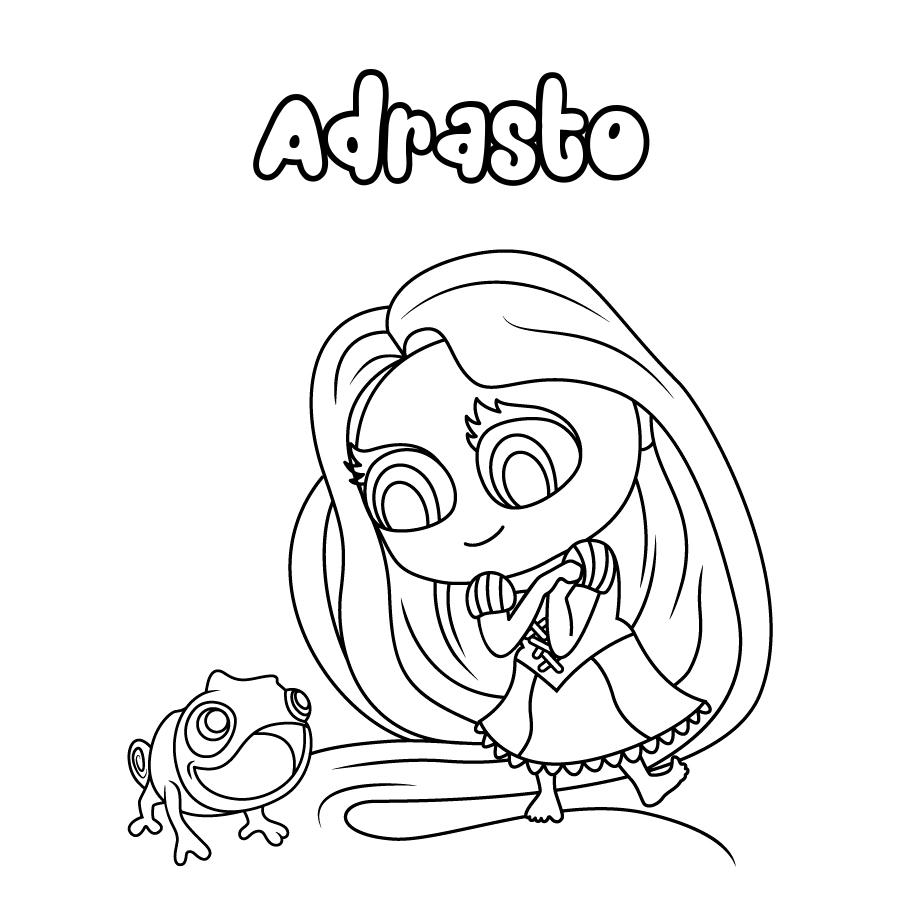 Dibujo de Adrasto