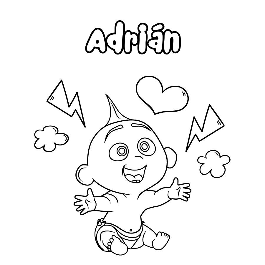 Dibujo de Adrián