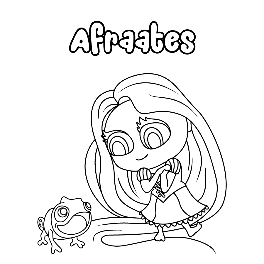 Dibujo de Afraates