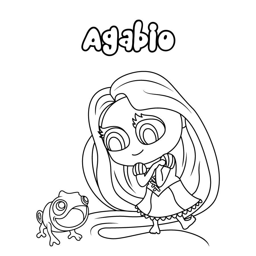 Dibujo de Agabio