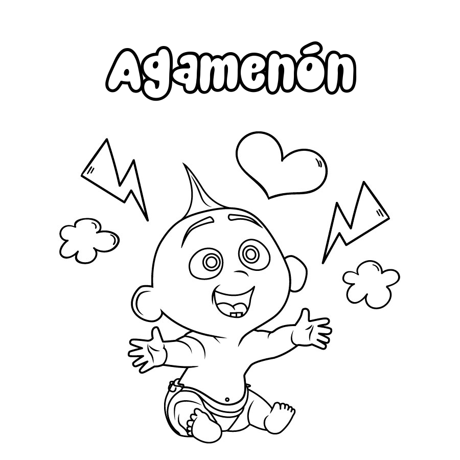 Dibujo de Agamenón
