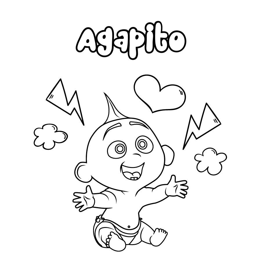 Dibujo de Agapito