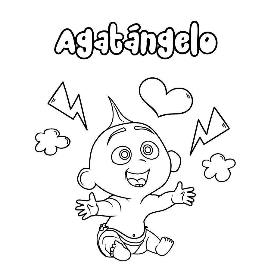 Dibujo de Agatángelo