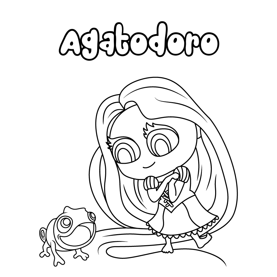 Dibujo de Agatodoro